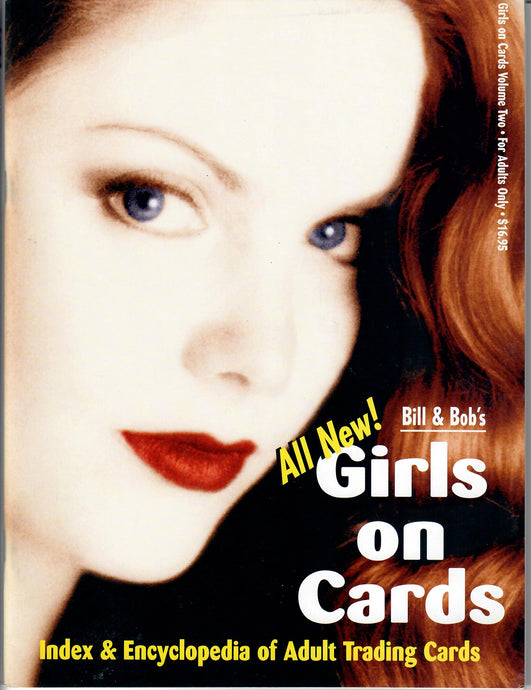Girls on Cards - Encyclopedia of Adult Trading Cards - Volume Two