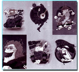 ROCK ART - Grateful Dead & Beyond - 6 Card UNCUT Ectachrome Card Set L1-L6