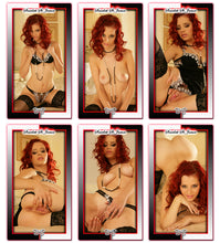 Load image into Gallery viewer, Climax Cards - HOT SHOTS Magic Shots - 6 Card SET - SCARLETT ST JAMES - Heated