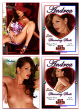 Load image into Gallery viewer, Climax Cards - Hot Shots PRIVATE ENCOUNTER Stunning Shots - 2 Card Jumbo Keepsake SET - ANDREA LaFLEUR