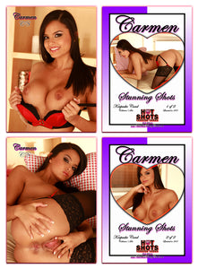 Climax Cards - Hot Shots Stunning Shots - 2 Card Jumbo Keepsake SET - CARMEN KENNEDY