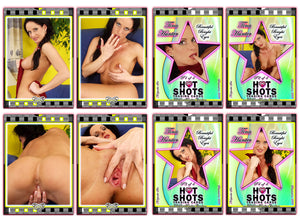 Climax Cards - Hot Shots - 4 Card Jumbo Keepsake SET - TINA HUNTER - Beautiful Bright Eyes