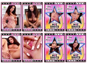 Climax Cards - Hot Shots - 4 Card Jumbo Keepsake SET - VICKI SIMMONS - Arousing Ambiance