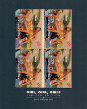 Load image into Gallery viewer, Hot Shots - Girls Girls Girls - Limited Edition Uncut Hologram Sheet - Gold Foil Hand Numbered