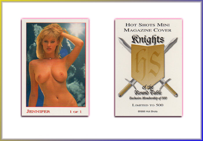 Hot Shots - Mini Magazine - KOTRT - Knights of the Roundtable - Limited Edition Mini Cover Card