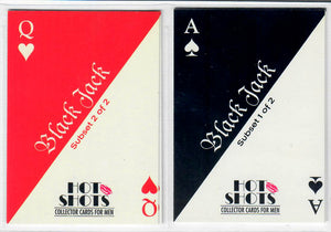 Hot Shots - Queen of Hearts - BlackJack - 2 Card Subset - Kaylan / Diedre