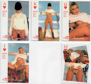 Hot Shots - Queen of Hearts - Royal Flesh - 5 Card Subset - Brandy Ledford