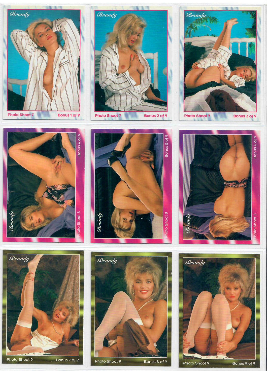 Hot Shots - Brandy Ledford - Salute to BRANDY - 9 Card Bonus Set