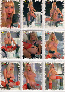Hot Shots - ICE QUEEN - Savannah - Gold Foil Complete 9 Card Chase Set