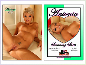Climax Cards - Hot Shots Stunning Shots - 2 Card Jumbo Keepsake SET - ANTONIA AUSTIN