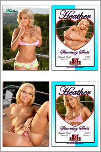 Climax Cards - Hot Shots Stunning Shots - 2 Card Jumbo Keepsake SET - HEATHER HARTLEY