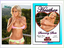 Load image into Gallery viewer, Climax Cards - Hot Shots Stunning Shots - 2 Card Jumbo Keepsake SET - HEATHER HARTLEY