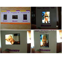 Load image into Gallery viewer, Hot Shots - '98 Trilogy Part 1 - BRANDY LEDFORD 3 card Transparency Set