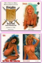 Load image into Gallery viewer, Hot Shots - Mini Magazine - KOTRT - Knights of the Roundtable - 5 Card Mini Card Set - UNCUT