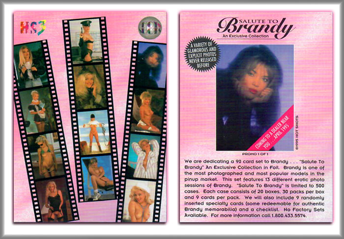 Hot Shots - Series 3 - Salute to Brandy Ledford - Pink Promo 1 of 1