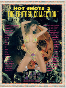 Sell Sheet - HOT SHOTS - Series 3 The Fantasy Collection - w/Pink Foil Lips - Counter Slick