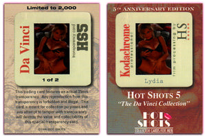 Hot Shots - Series 5 - Da Vinci - 5th Anniversary - Kodachrome Transparency - 1 of 2 - Lydia
