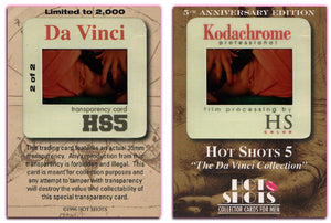 Hot Shots - Series 5 - Da Vinci - 5th Anniversary - Kodachrome Transparency - 2 of 2