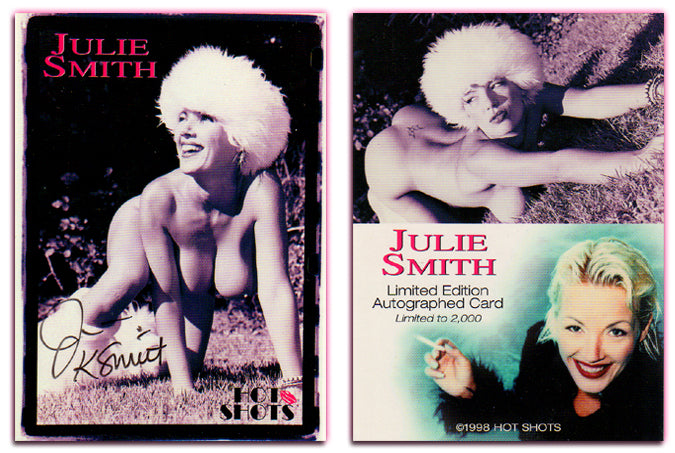 Hot Shots - '98 Trilogy Part 2 - JULIE SMITH Authentic Autograph Card