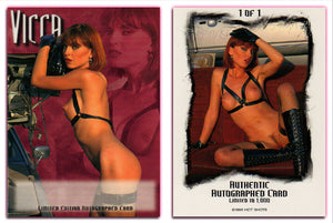 Hot Shots - '98 Trilogy Part 2 - VICCA Authentic Autograph Card - Unsigned