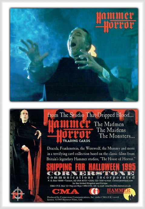 Hammer Horror Series 1 Cornerstone Promo Card P1