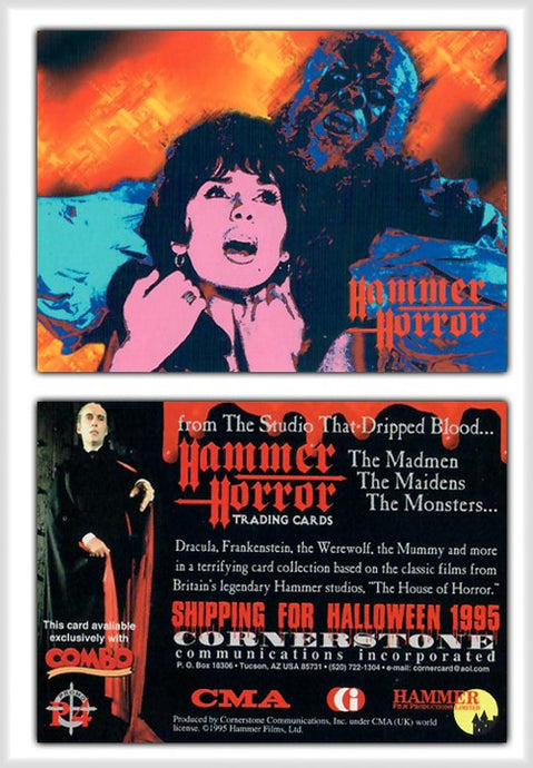 Hammer Horror Series 1 Cornerstone Promo Card P4 - Combo Magazine Exclusive