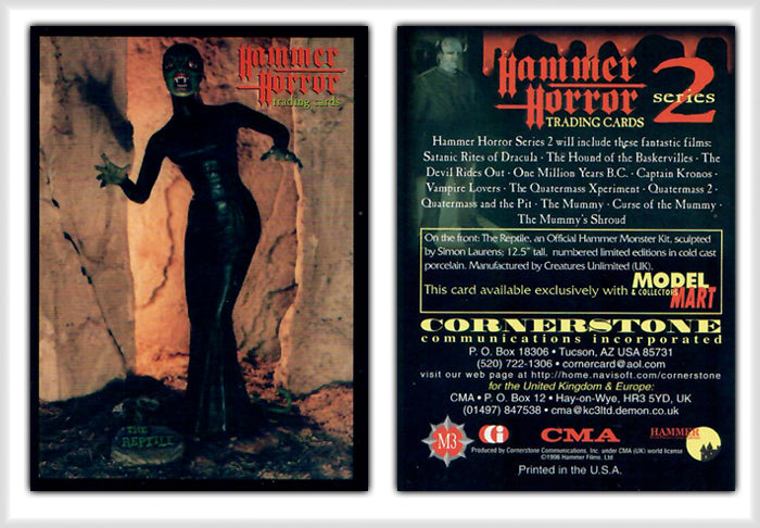 Hammer Horror Series 2 Cornerstone M3 The Reptile - Model Mart Exclusive