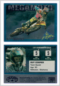 Hi-Flyers - Moto Cross Racing - Guy Cooper - MegaMoto Promo Card 2 of 10
