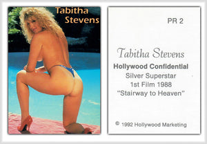 Hollywood Confidential - Tabitha Stevens 'Stairway to Heaven' - Promo Card PR2 - Rare
