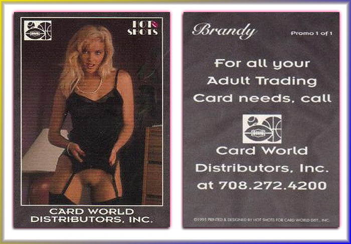 Hot Shots - Brandy Ledford - Card World Distributors -  Promo Card