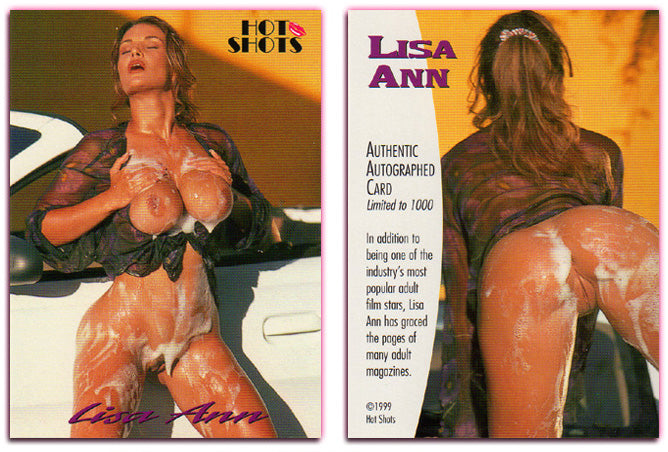 Hot Shots - LISA ANN - Authentic Autographed Card - Unsigned