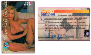 Hot Shots - Phone Card - CATHLEEN - 5 Units - 1994 - AUTOGRAPHED