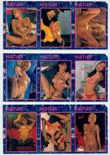 Load image into Gallery viewer, HUSTLER - Series II - Lot of 3 - 3 Card Uncut Strips w/Cut Corner