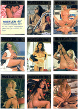 Load image into Gallery viewer, HUSTLER - '95 - Promotional Set - Complete 9 Card Gold Foil Promo Card Set P1-P9