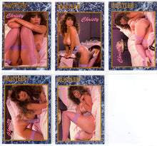 Load image into Gallery viewer, HUSTLER - HONEY Cards HH1-HH5 - Christy Canyon - 5 Card Complete Set