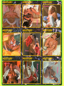 HUSTLER - SERIES II - Complete 100 Card Base Set - In UltraPro Pages
