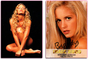 Image 2000 - Authentic Autograph Card - Brandye