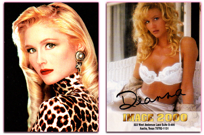 Image 2000 - Authentic Autograph Card - Deanna