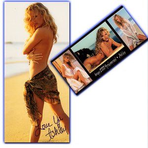 Image 2000 - SPOKESMODELS - ASHLEY - Autographed Oversize Card