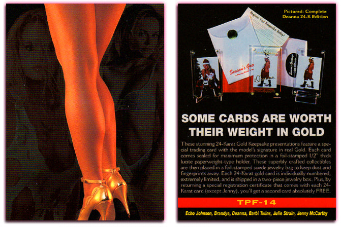 Image 2000 - The Pinup Factory - Promo Card TPF-14