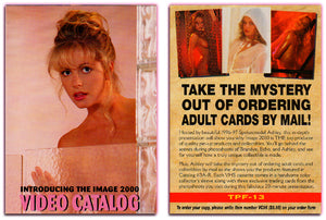 Image 2000 - The Pinup Factory - Promo Card TPF-13 - Video Catalog