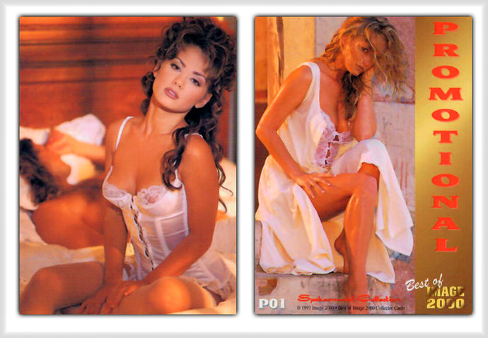 Image 2000 - Best Of - Spokesmodel Collection - Promo Card P01