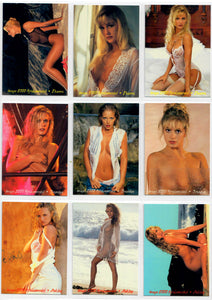 Image 2000 - Spokesmodels Collection - 9 Card Exclusive Card Set