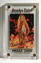 Load image into Gallery viewer, Image 2000 - 24kt Gold Autograph - BRANDY ELAINE - Limited Edition Keepsake Card
