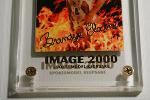 Image 2000 - 24kt Gold Autograph - BRANDY ELAINE - Limited Edition Keepsake Card
