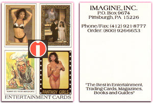 Imagine, Inc. - Quad Card Display -  Promo Card