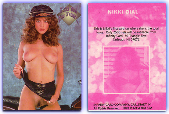 Infinity - NIKKI DIAL - Pink Back Unnumbered Promo Card