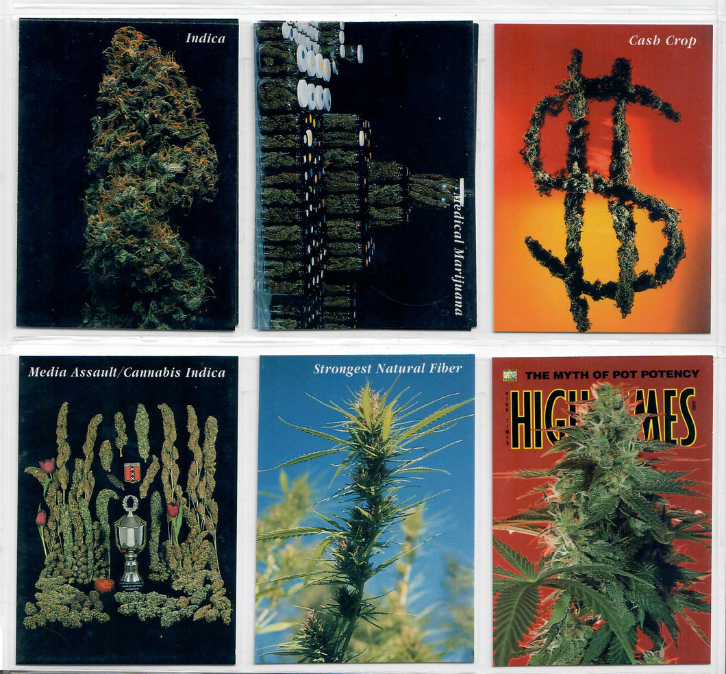 InLine - Hemp / Marijuana - 6 Card Prototype Set