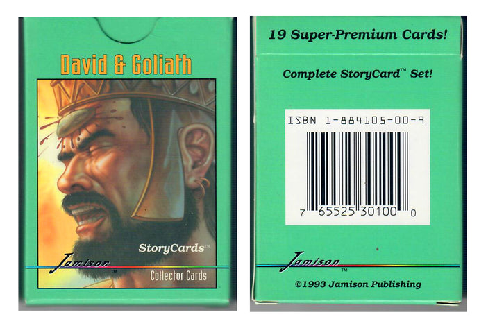 Jamison Collector Cards - The Bible Series - 19 Card Boxed Set - David & Golaith