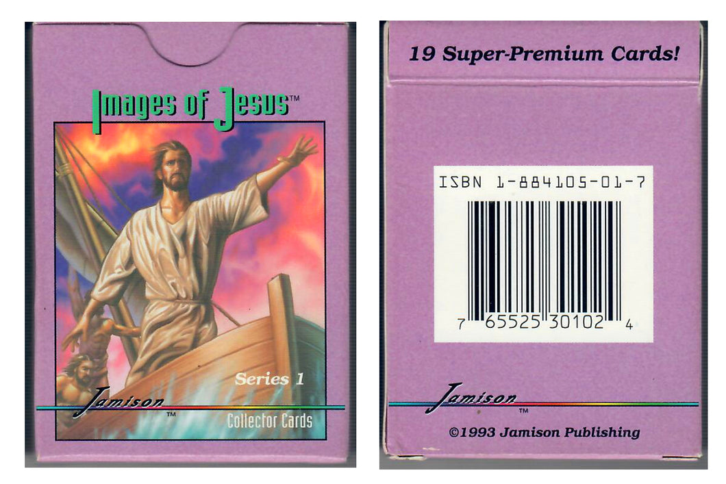 Jamison Collector Cards - The Bible Series - 19 Card Boxed Set - Images of Jesus